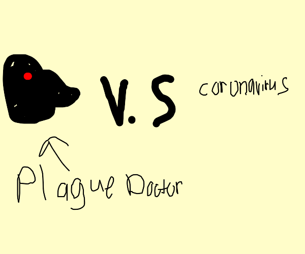 Plague Doctor and the Cornonavirus