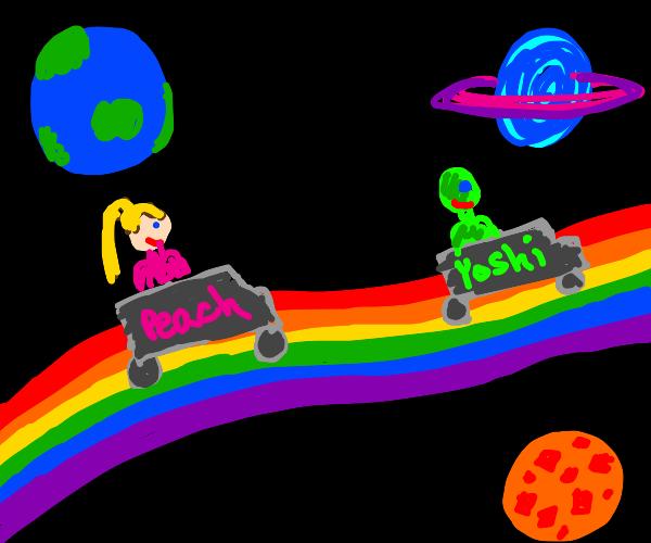 Mario Kart, RAINBOW ROAD!!!!