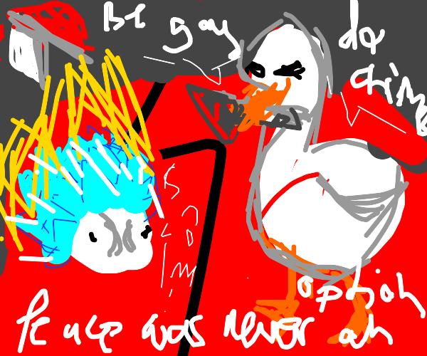 Snom v.s Untitled Goose