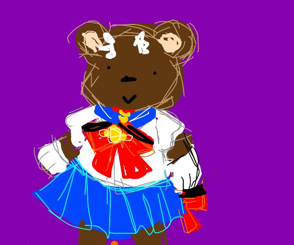 Bear magical girl