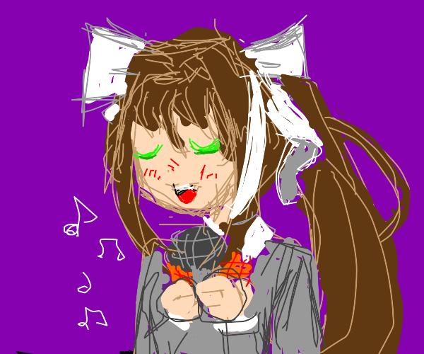 Singing Monika
