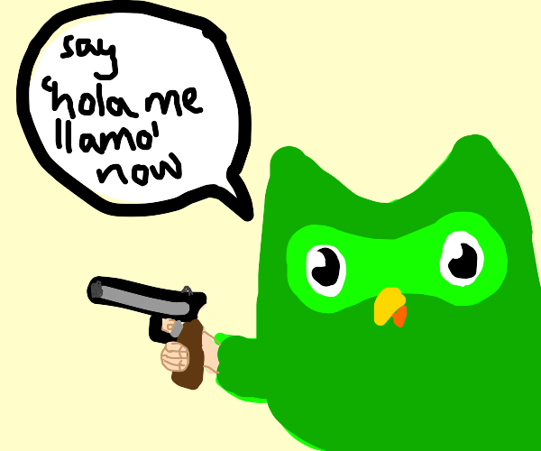 owl demands you speak foreign language