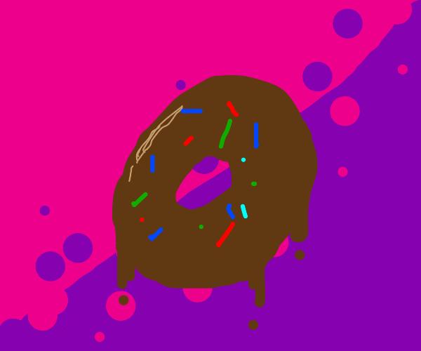 Chocloate Sprinkle Donut