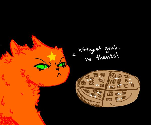 Firestar doesn't want waffles
