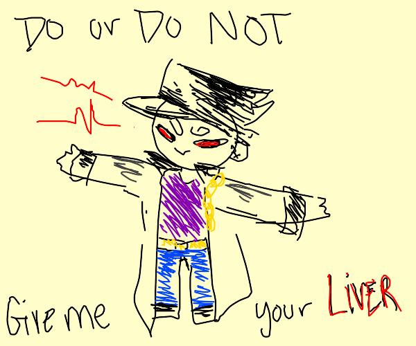 Jotaro asserts his dominance