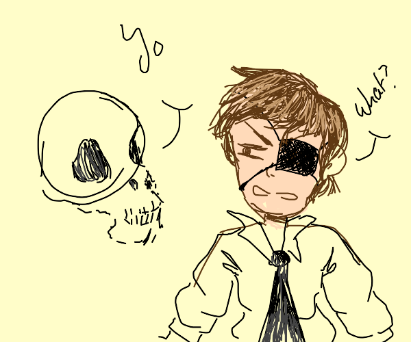 That skulls that speak to Pirates