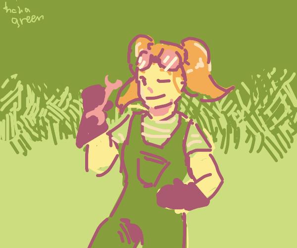 Mel (Team Lemon Mascot)