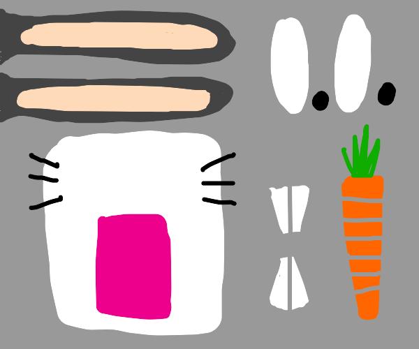 abstract bugs bunny