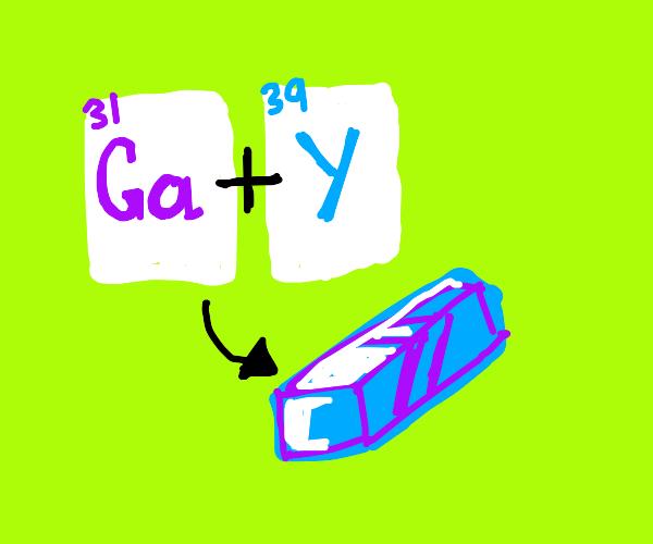 gallium yttrium alloy