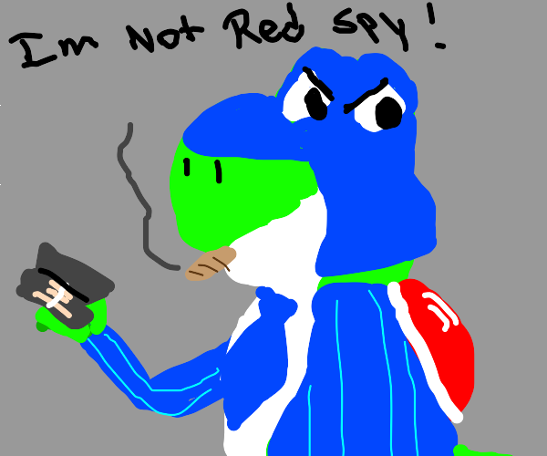 That spy is a Yoshi!