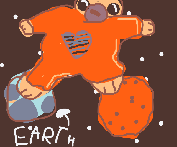 Baby takes over earth and mars