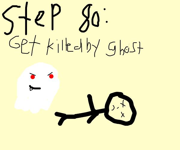 Step 79: Enter Creepy House