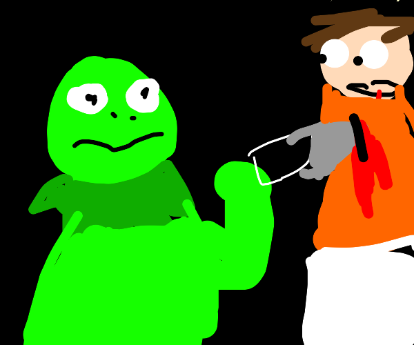 Kermit killing someone
