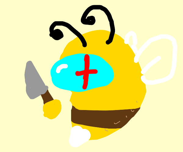 Imposter bee