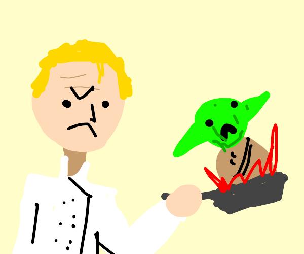 gordon ramsay cooks baby yoda