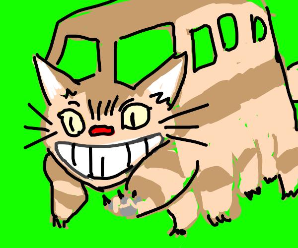 Catbus from totoro