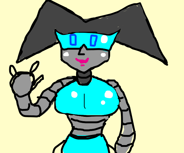New and improved robot girlfriend.