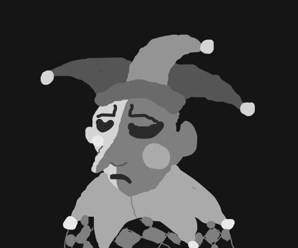 depressed jester