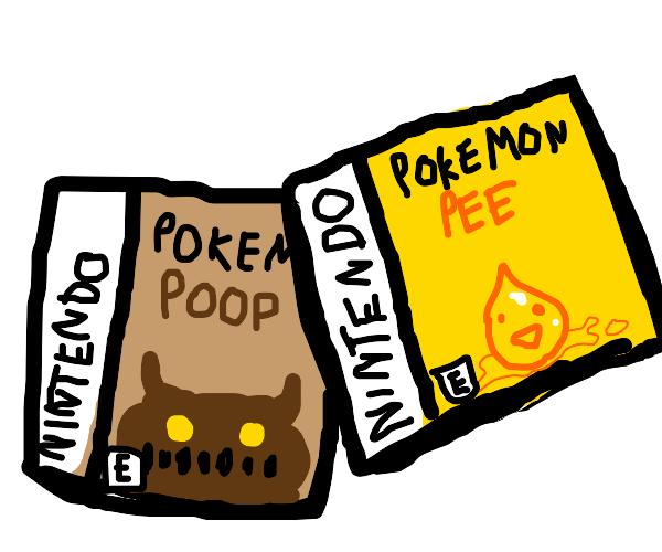 Pokémon Poop Pee
