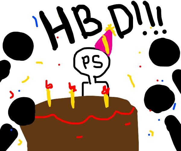 happy birthday PS