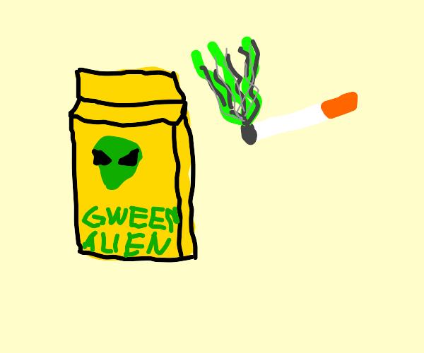 Cigarette from an Alien Planet