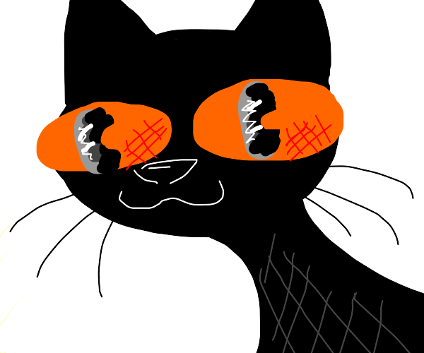 Cat in old-Cartoons style