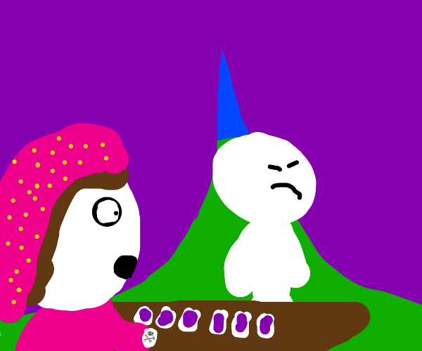 Man unhappy with tarot card reading