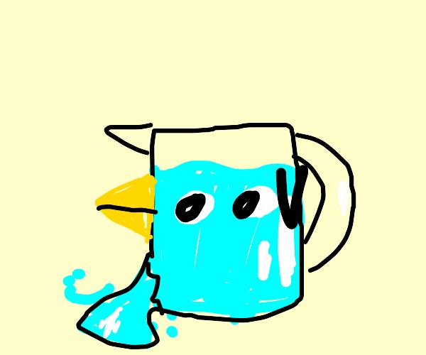 beaker with a beak leaks