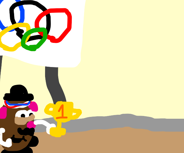 potato wins the olympics