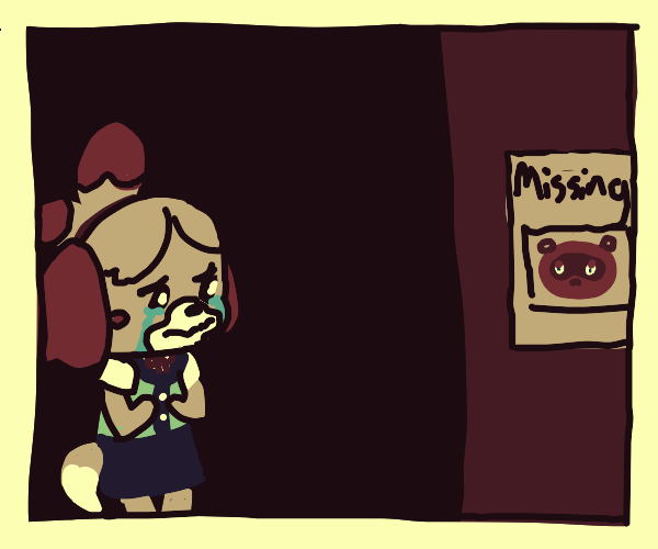 Isabelle waiting for mayor to return