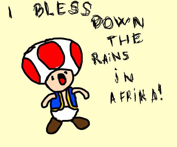 toad sings africa by toto