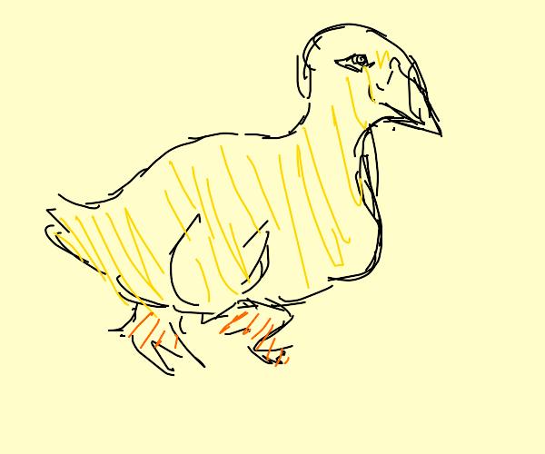 realistic yellow duck