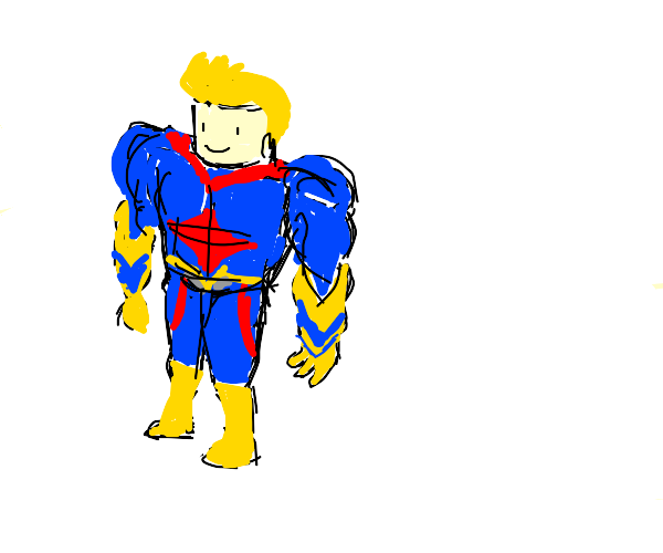 roblux All Might from my hero academia