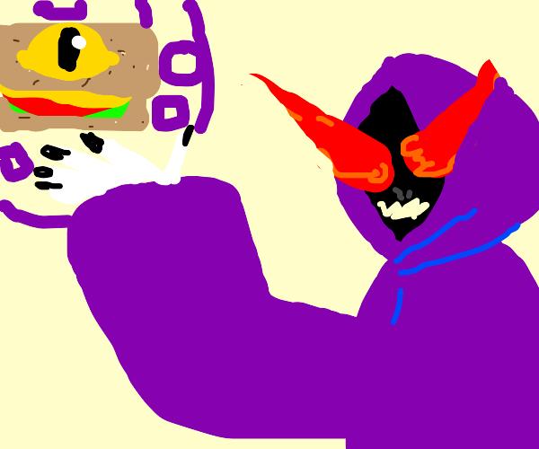 Summoning from a satanic sandwich