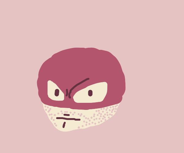 Voltorb with Aaron Eckharts chin