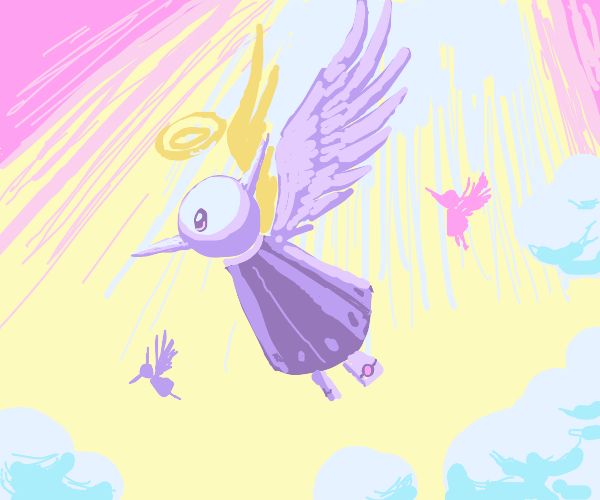 Robotic Angel humming birds