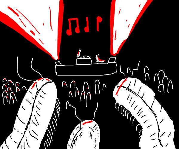millipede rave