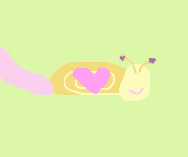 Valentines Snail
