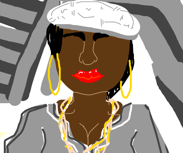 stereotypical female rapper