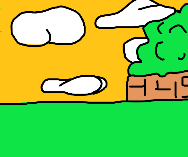 Weird sky