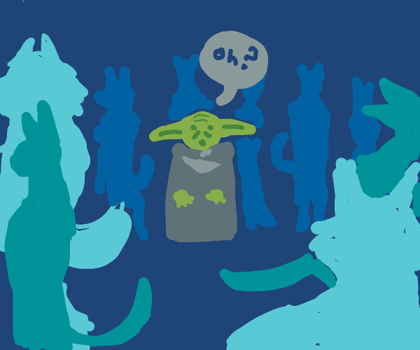 Yoda discovering Furries existence