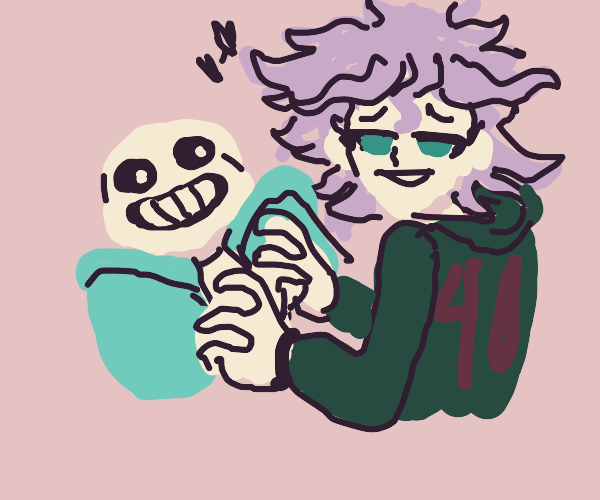 True love between Sans and the fanfic writer