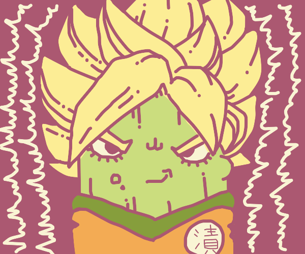 Pickle Super Saiyan Goku