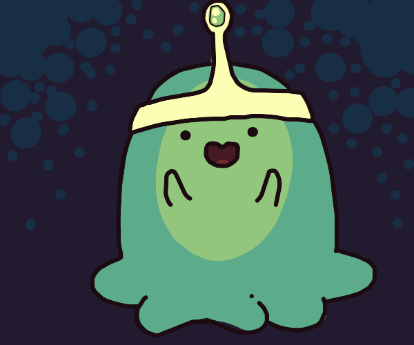 a happy slime