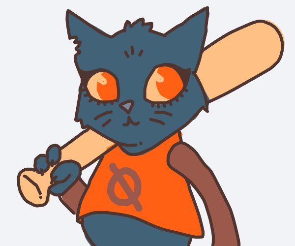 Mae from a night in the woods