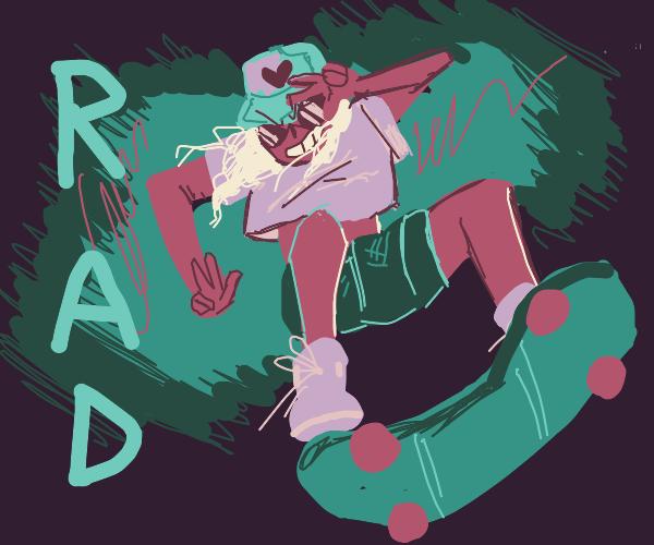 Rad skater girl