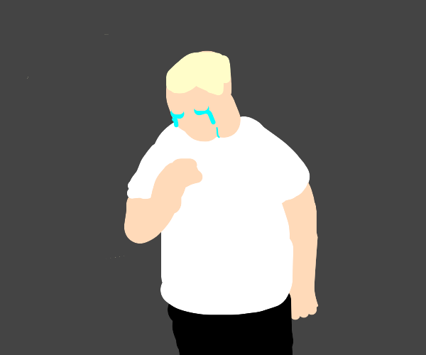 Stan is crying