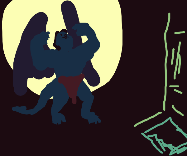 Gargoyle from the Basement