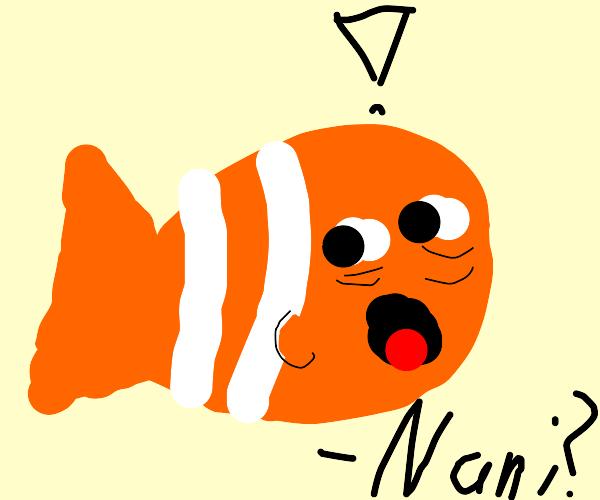 Finding Nemo goes through a sudden realizatio