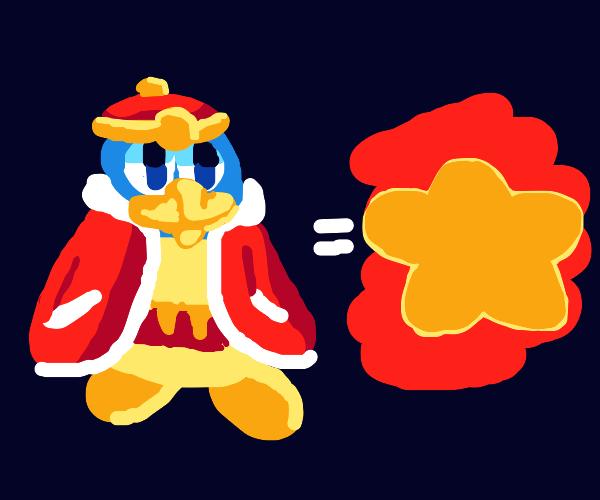 king dedede equals star